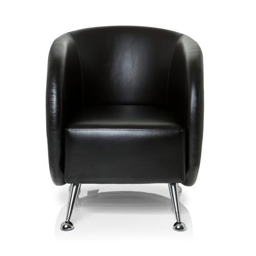 ST. LUCIA | 1-Sitzer - Loungesessel Schwarz