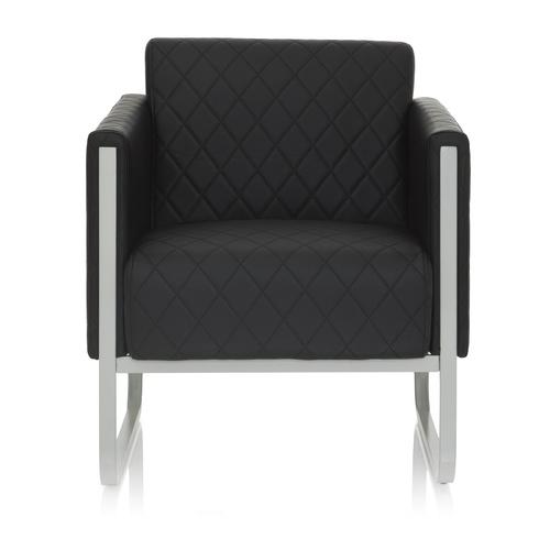 ARUBA STEP | 1-Sitzer - Lounge Sofa Schwarz