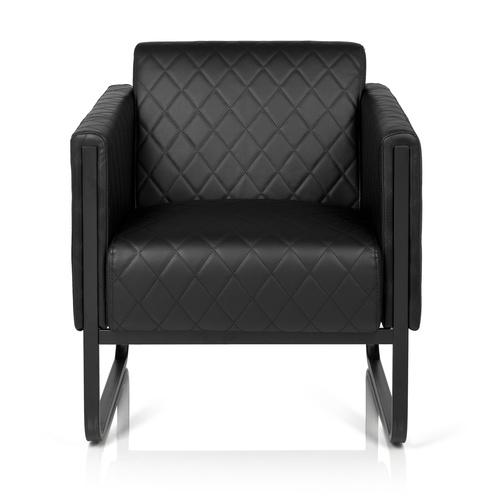 ARUBA BLACK | 1-Sitzer - Lounge Sofa Schwarz