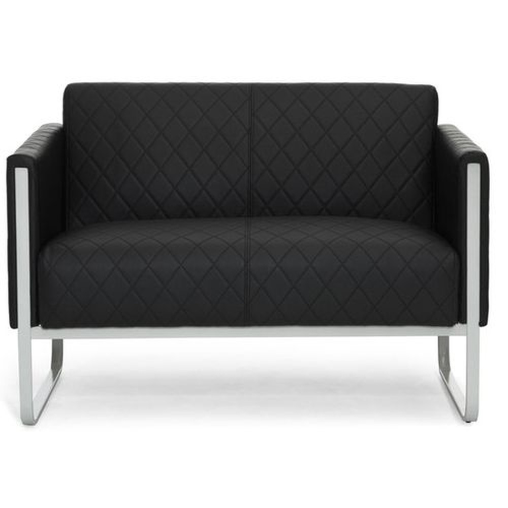 ARUBA STEP | 2-Sitzer - Lounge Sofa Schwarz