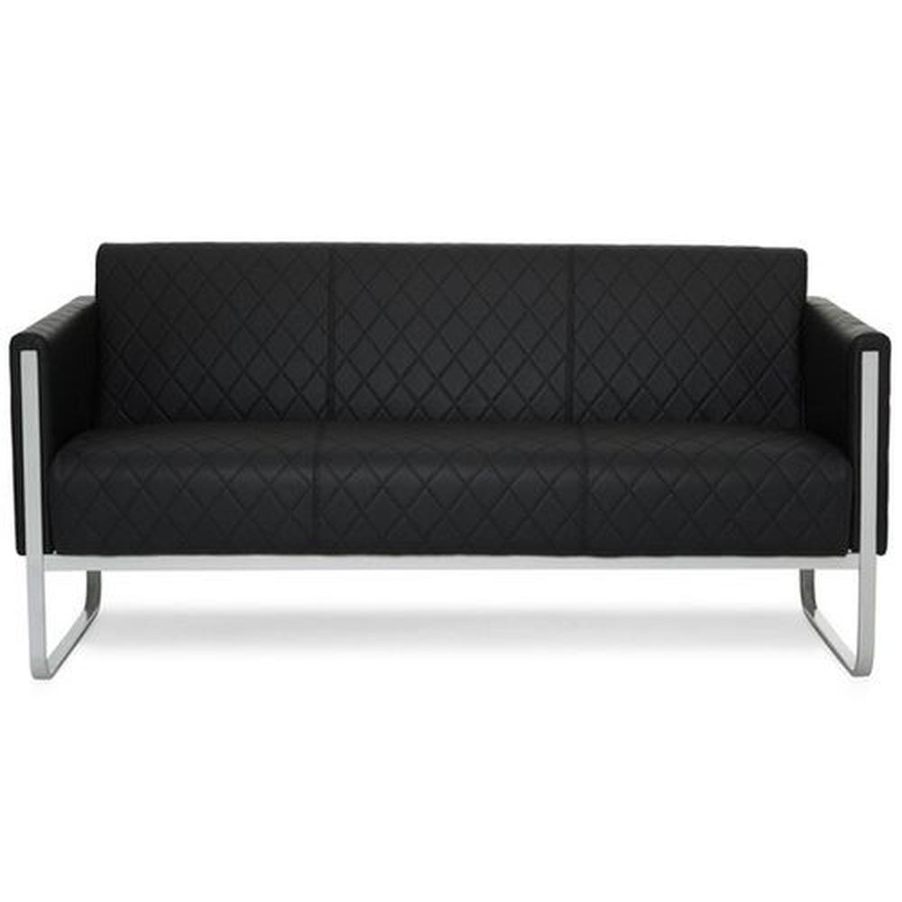 ARUBA STEP | 3-Sitzer - Lounge Sofa Schwarz