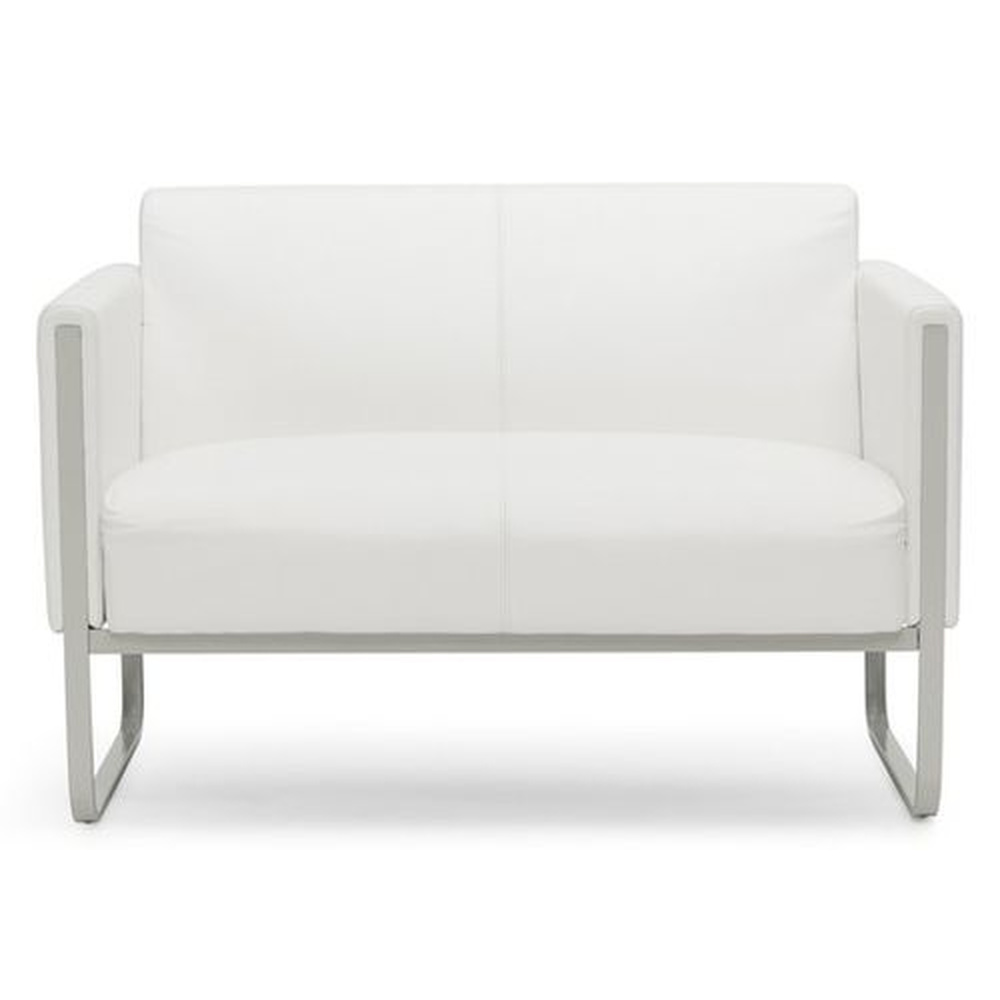 ARUBA | 2-Sitzer - Lounge Sofa Weiß