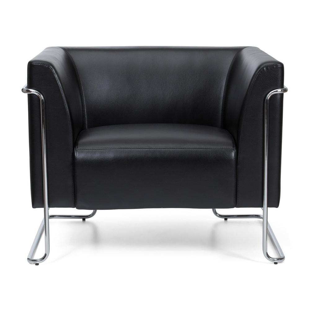 CURACAO | 1-Sitzer - Lounge Sofa Schwarz