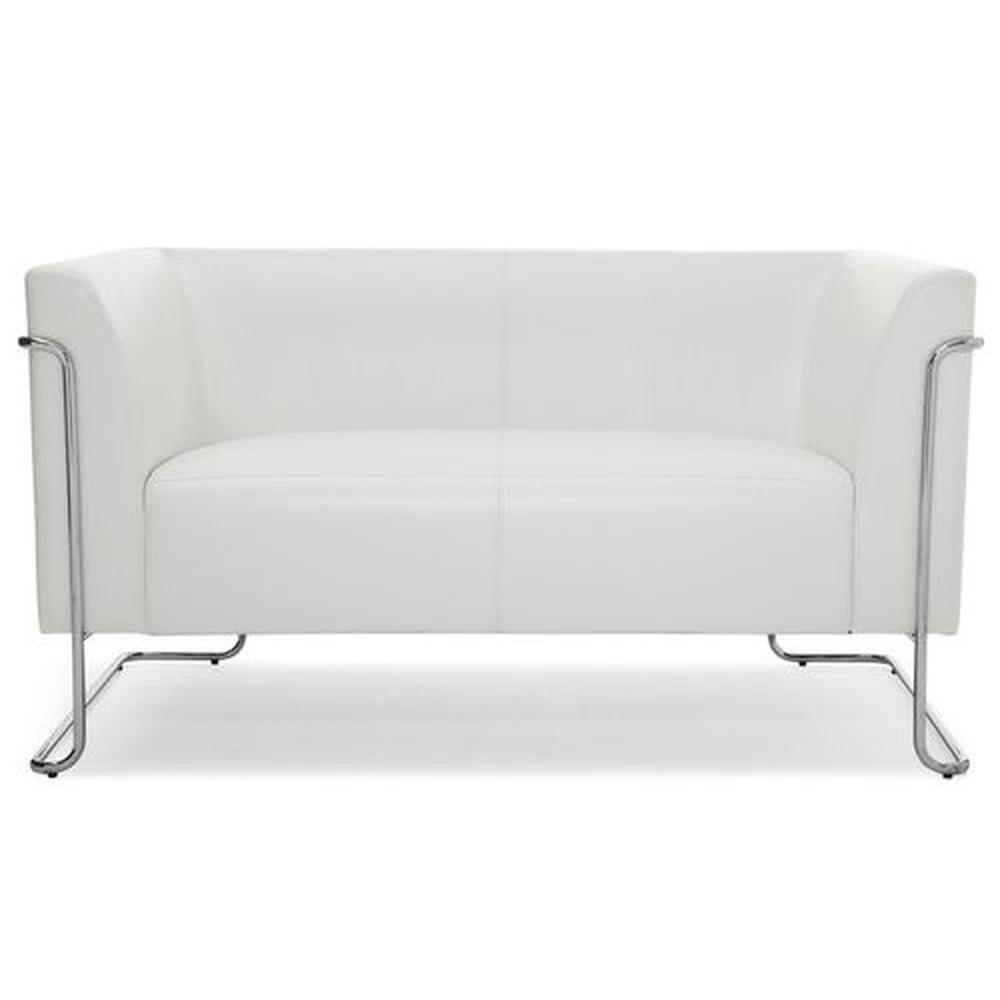 CURACAO   2-Sitzer - Lounge Sofa Weiß