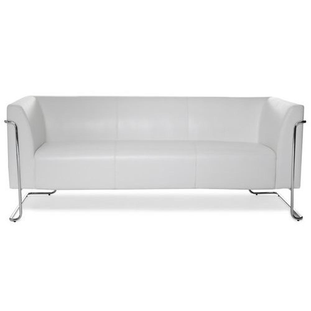 CURACAO | 3-Sitzer - Lounge Sofa Weiß