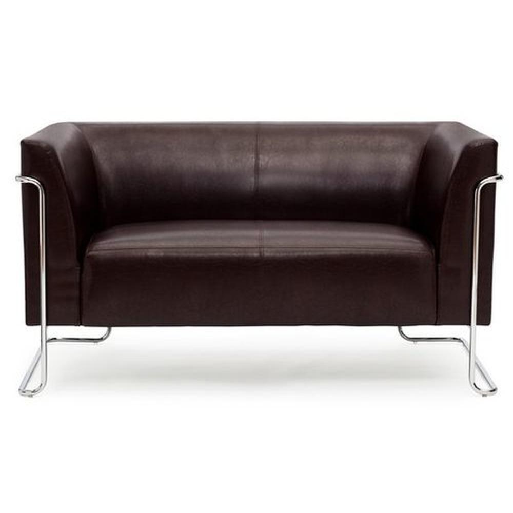 CURACAO | 2-Sitzer - Lounge Sofa Braun