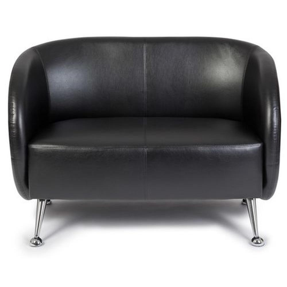 ST. LUCIA | 2-Sitzer - Lounge Sofa Schwarz