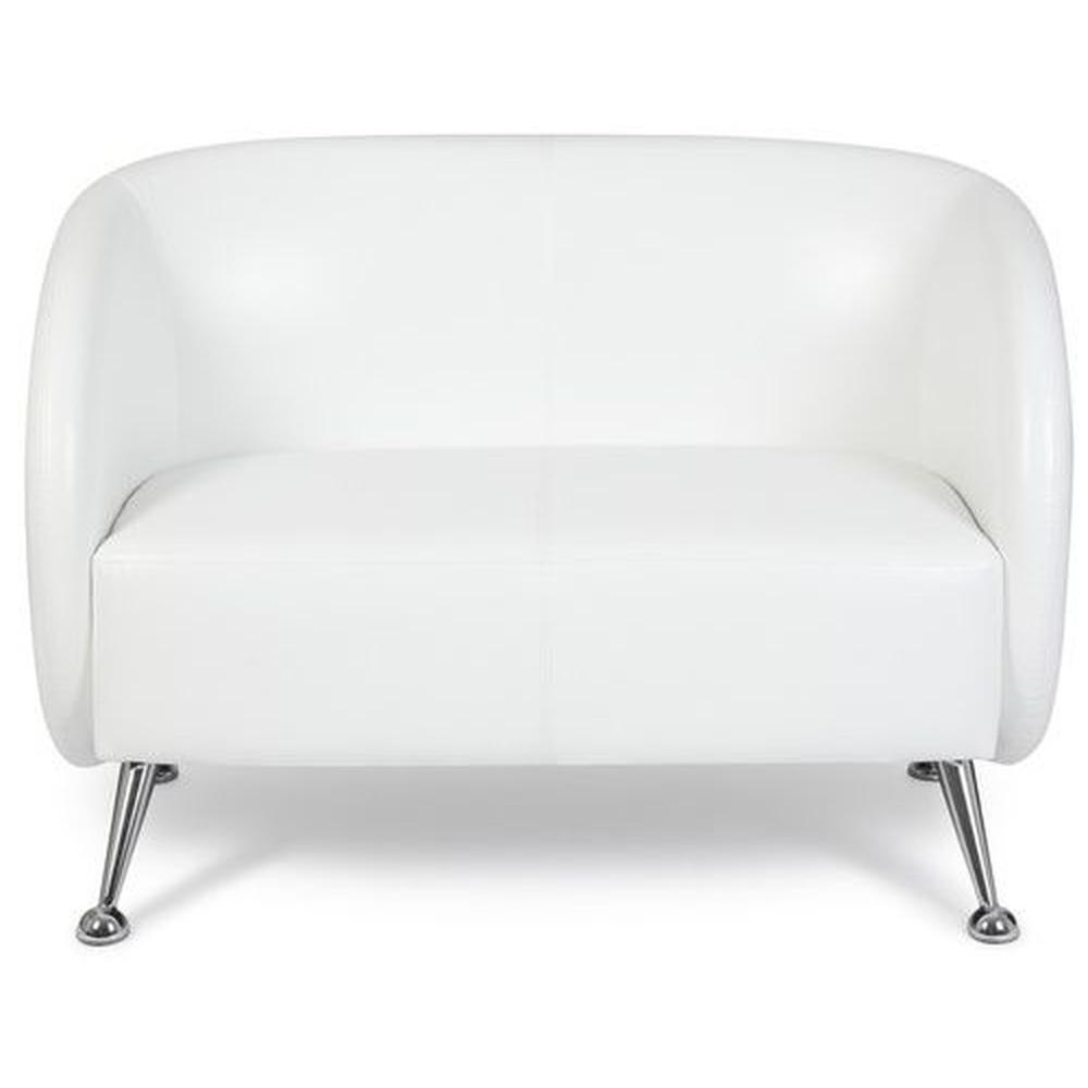 ST. LUCIA | 2-Sitzer - Lounge Sofa Weiß