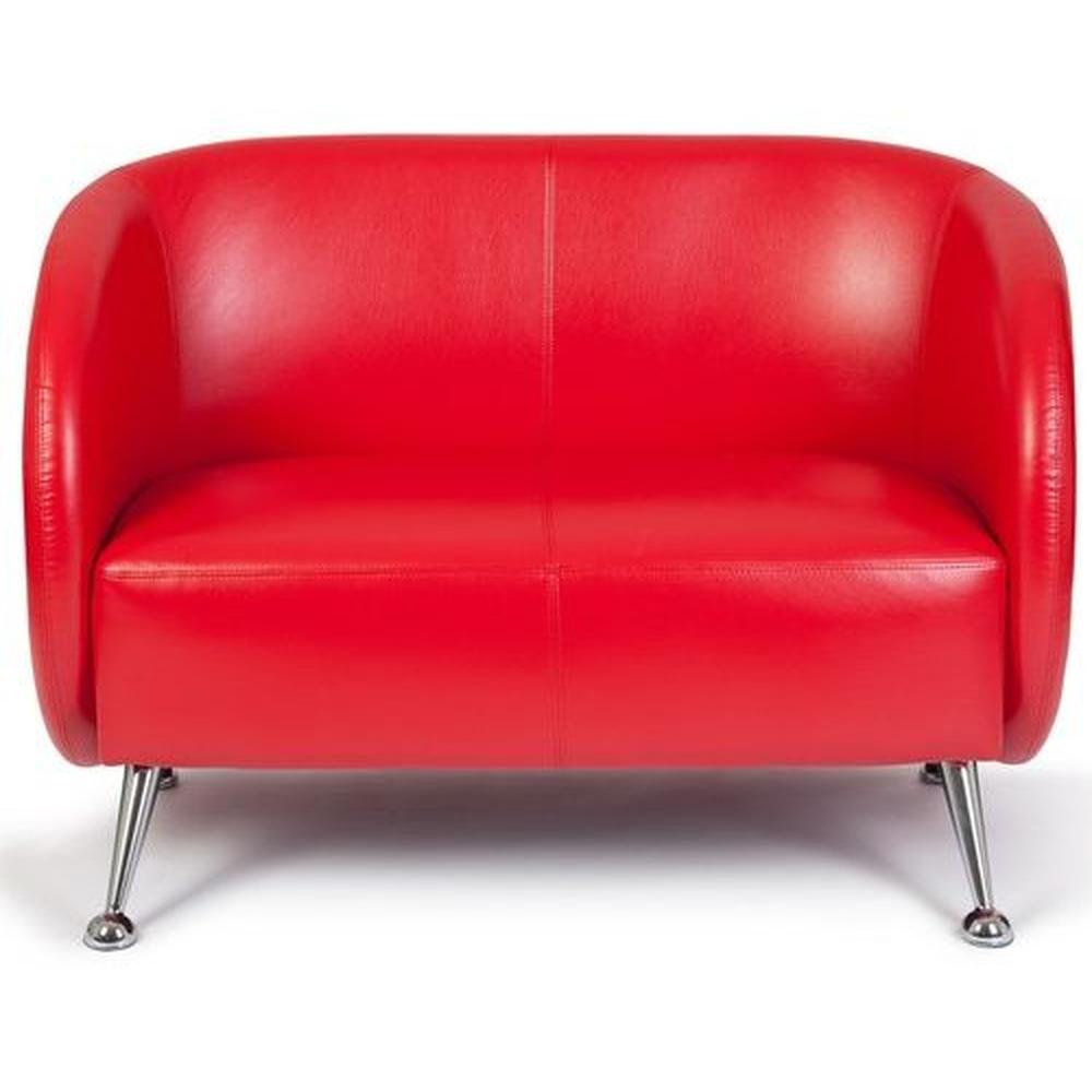 ST. LUCIA | 2-Sitzer - Lounge Sofa Rot