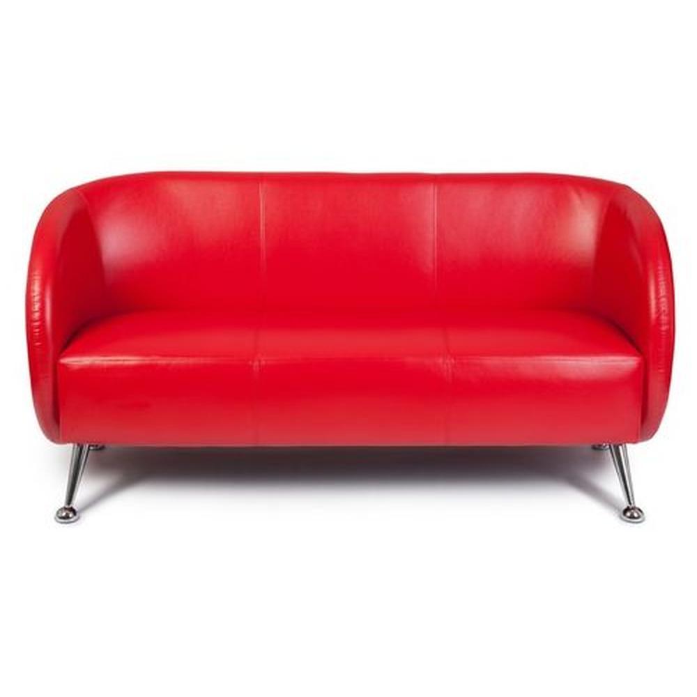 ST. LUCIA | 3-Sitzer - Lounge Sofa Rot