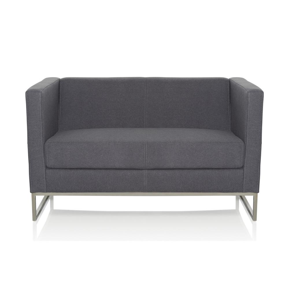 BARBADOS | 2-Sitzer - Lounge Sofa Dunkelgrau