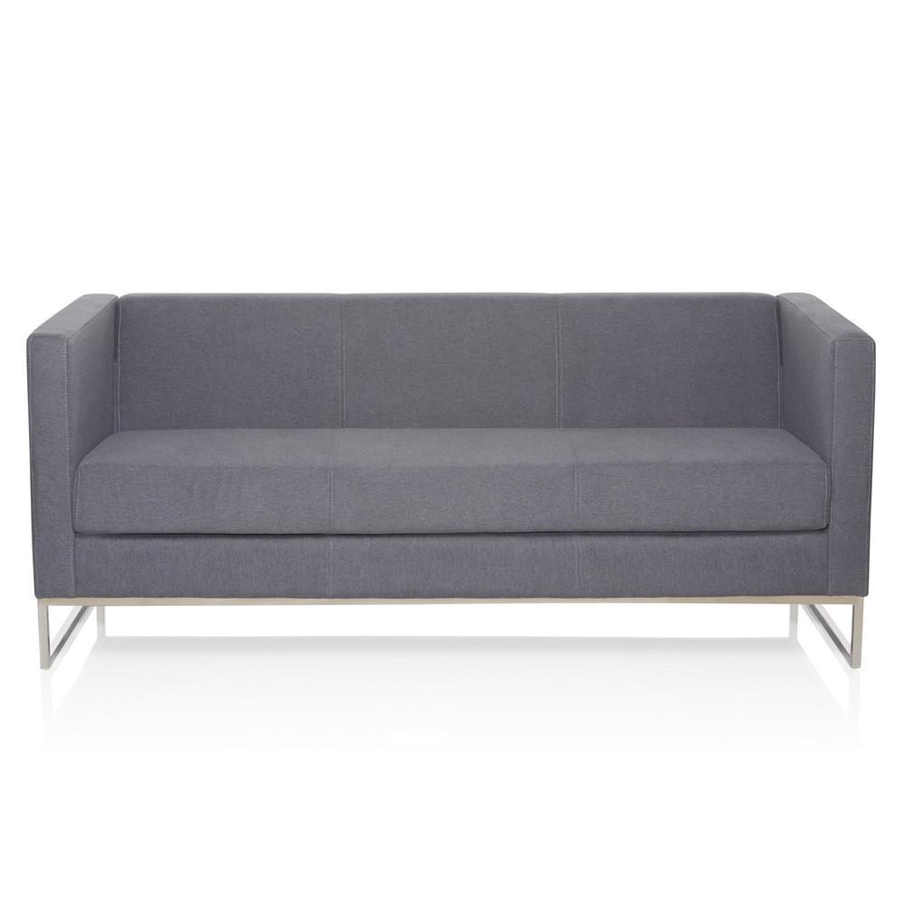 BARBADOS | 3-Sitzer - Lounge Sofa Dunkelgrau