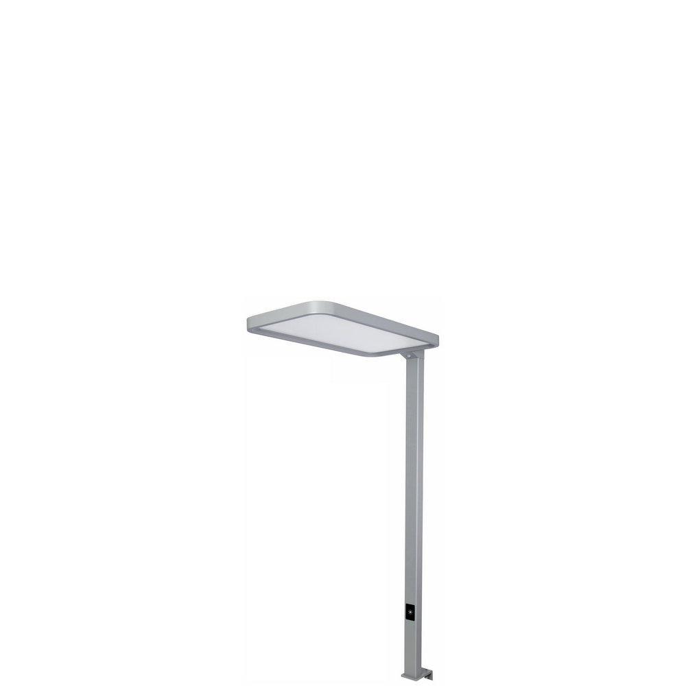 STUDIO DESK | LED Tischleuchte - Lampe Weissaluminium