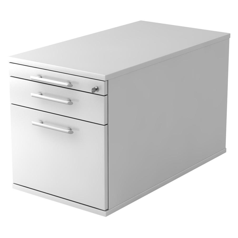 SIGNA TC20 RE - Rollcontainer Weiß mit Hängeregistratur Relinggriff Kunststoff